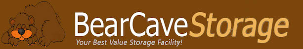 Bear Cave Storage Logo